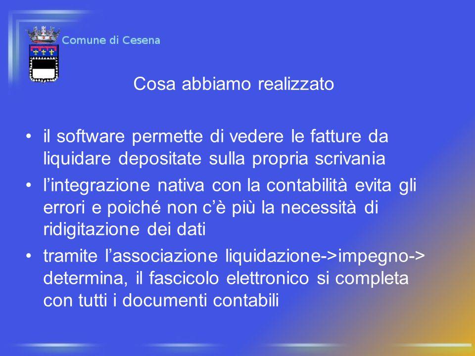 il software permette di vedere le fatture da liquidare depositate sulla propria scrivania lintegrazione nativa con la contabilità evita gli errori e p
