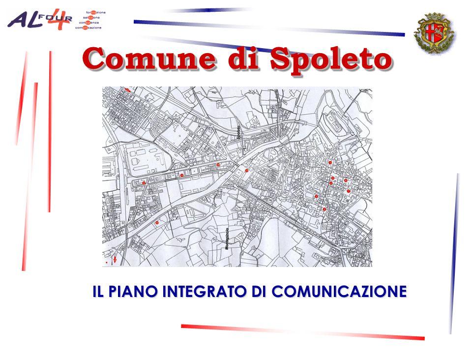 Comune di Spoleto Comune di Spoleto IL PIANO INTEGRATO DI COMUNICAZIONE