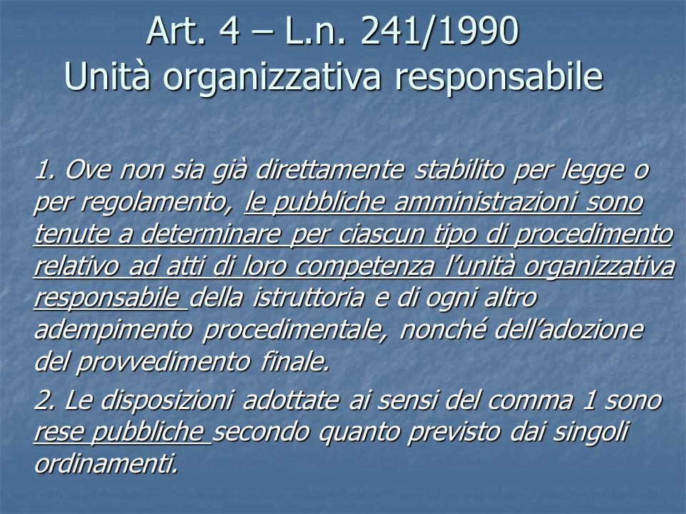 Forma e competenza Forma libera ma…..uso del termine ricevimento Forma libera ma…..