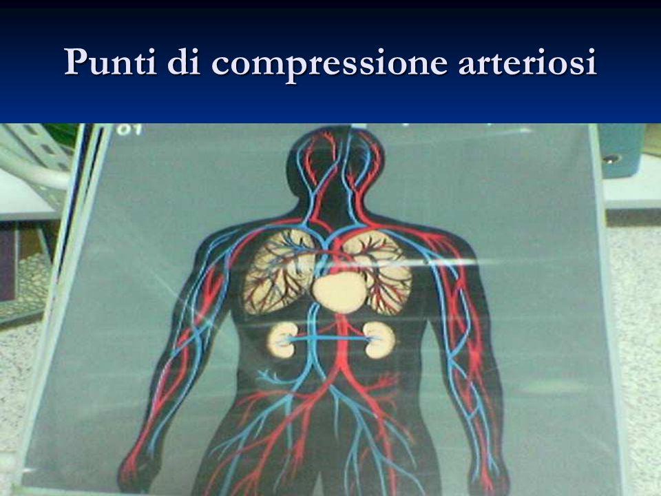 Punti di compressione arteriosi