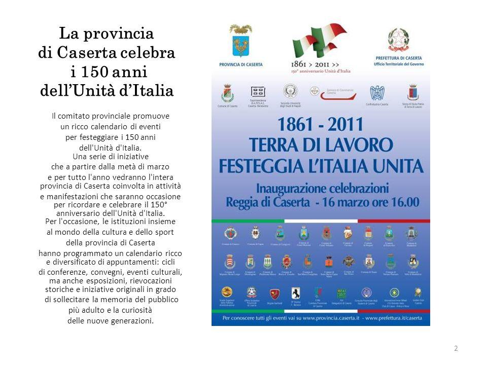 Il comitato provinciale promuove un ricco calendario di eventi per festeggiare i 150 anni dell Unità d Italia.
