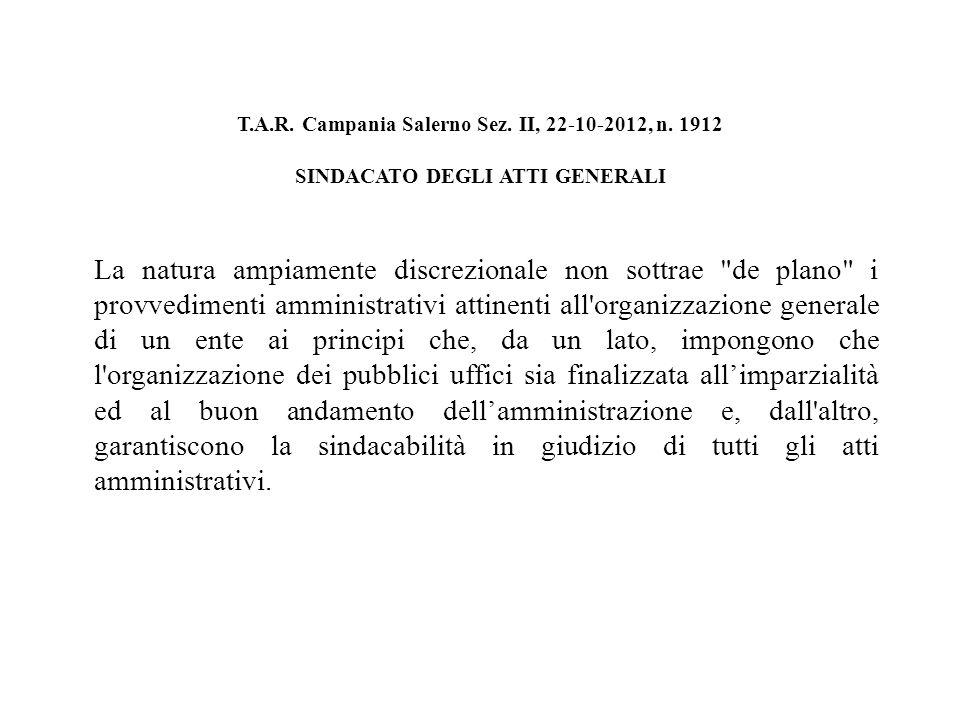 T.A.R.Sicilia Palermo Sez. III, 06-12-2012, n.