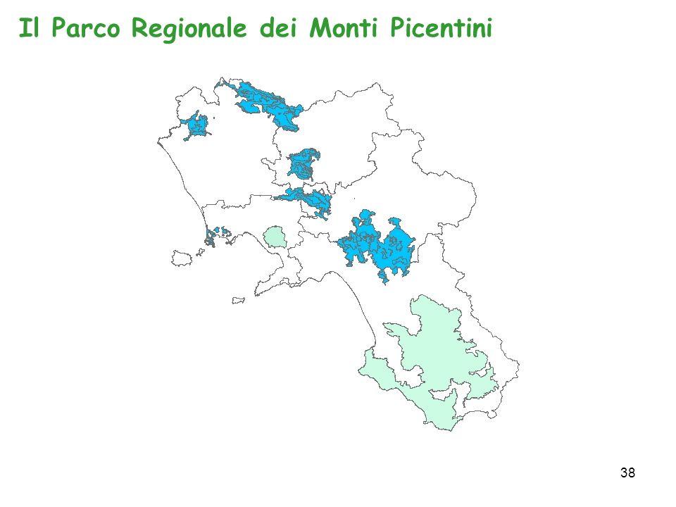 38 Il Parco Regionale dei Monti Picentini