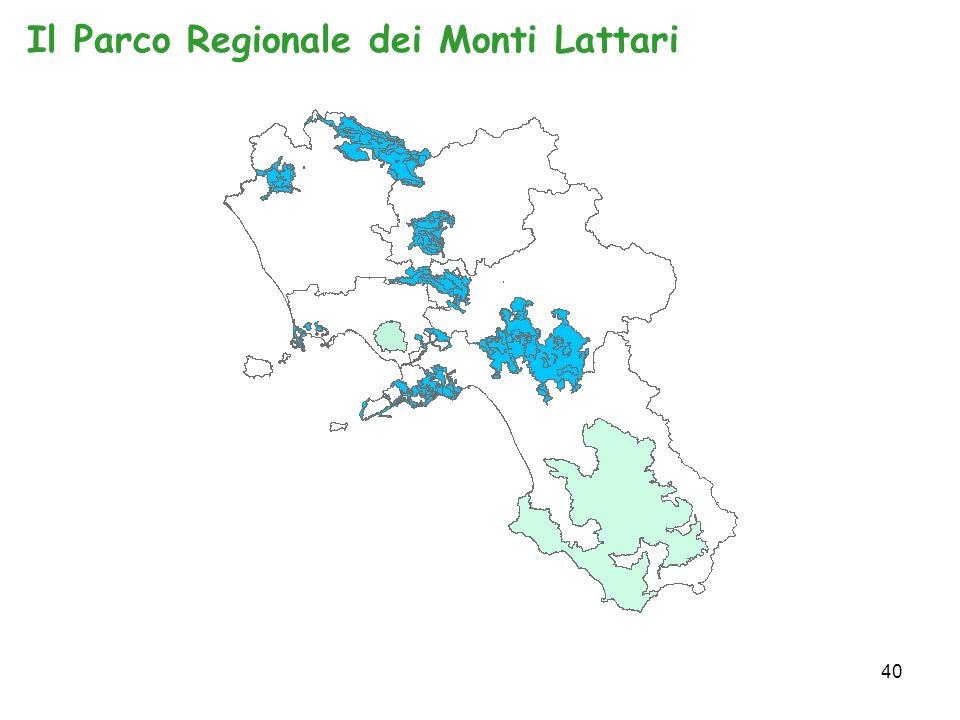 40 Il Parco Regionale dei Monti Lattari
