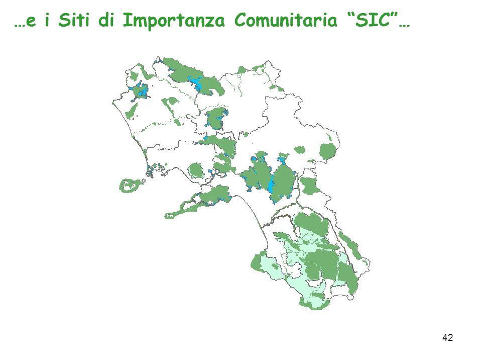 42 …e i Siti di Importanza Comunitaria SIC…