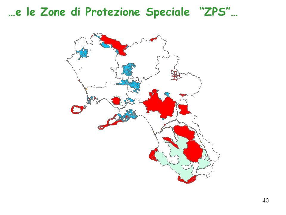 43 …e le Zone di Protezione Speciale ZPS…