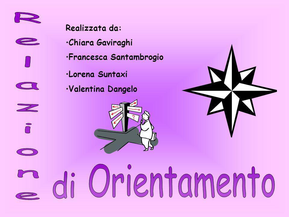 Realizzata da: Chiara Gaviraghi Francesca Santambrogio Lorena Suntaxi Valentina Dangelo