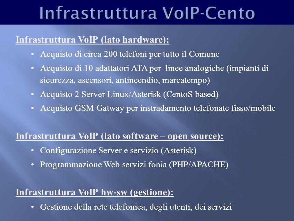 Costi fonia (tradizionale vs VoIP) ANNO 2008 Fonia Telecom VoIPDifferenze Linee Telefoniche 8446 - 38 Traffico Fonia.