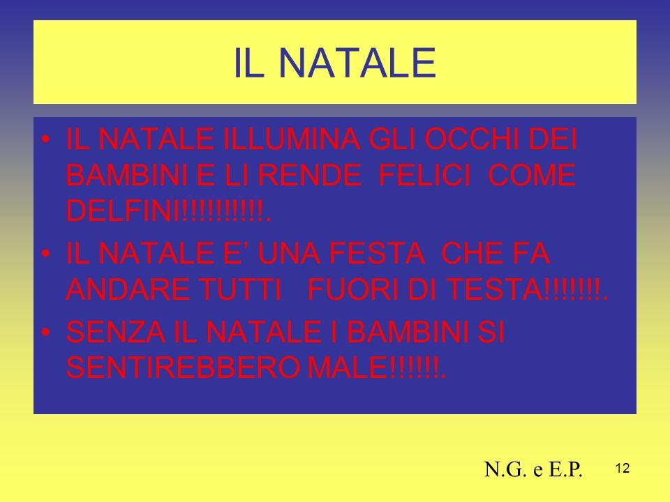 12 IL NATALE IL NATALE ILLUMINA GLI OCCHI DEI BAMBINI E LI RENDE FELICI COME DELFINI!!!!!!!!!!.