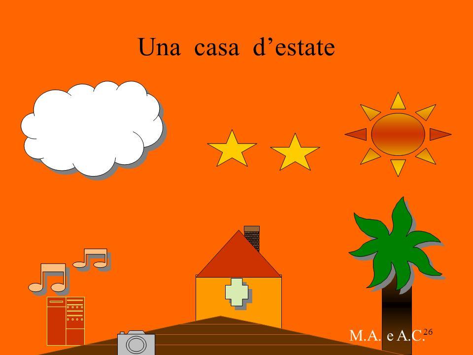 26 Una casa destate M.A. e A.C.