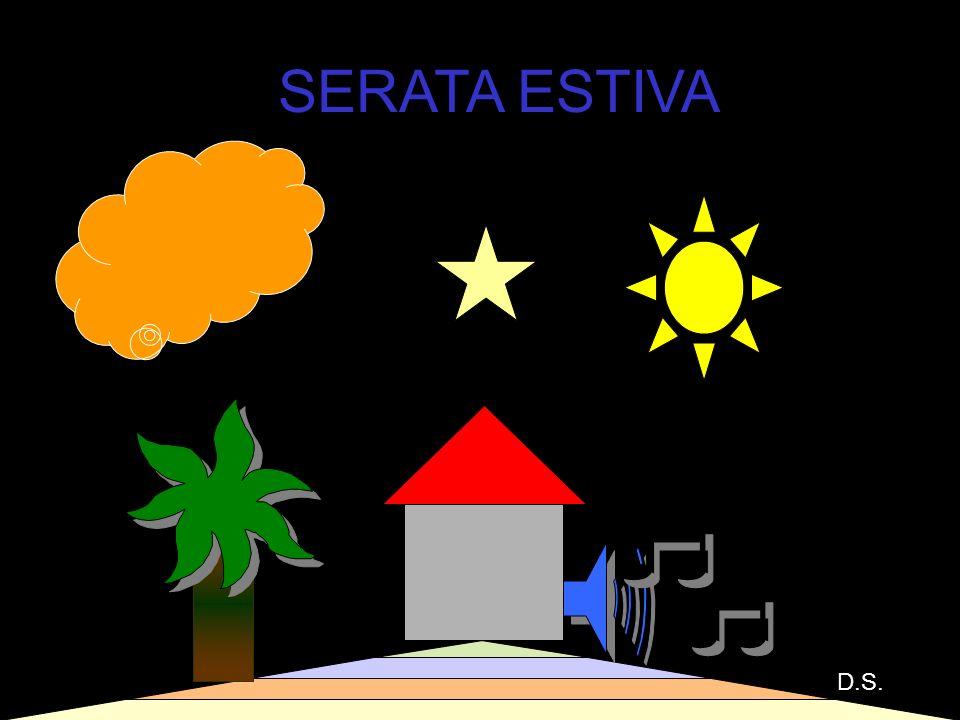 28 SERATA ESTIVA D.S.