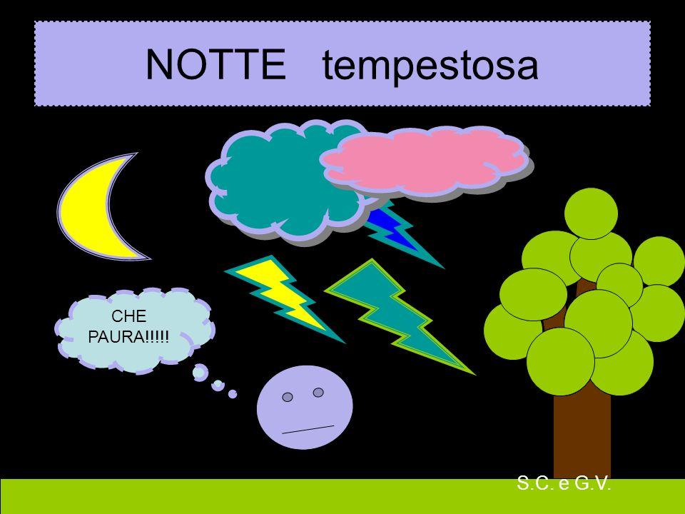 9 NOTTE tempestosa CHE PAURA!!!!! S.C. e G.V.