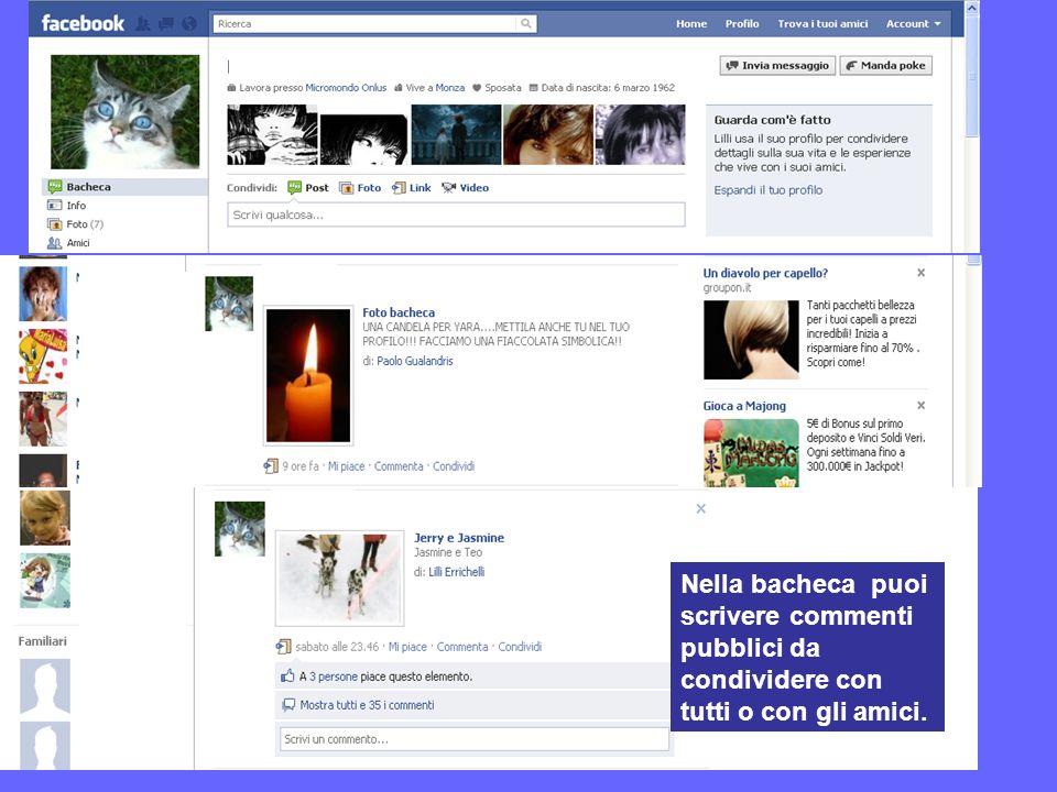 Precauzioni Se utilizzato incautamente, Facebook rappresenta un serio pericolo per la nostra privacy.