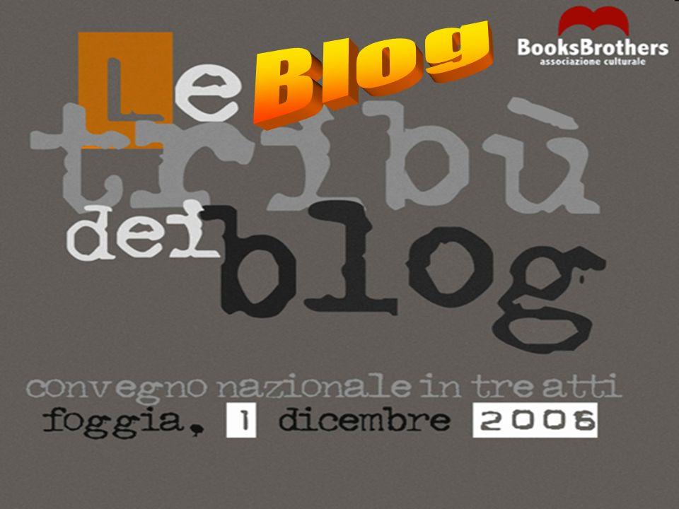 CHE COSA SONO I BLOG Nel gergo di Internet, un blog è un diario in rete.