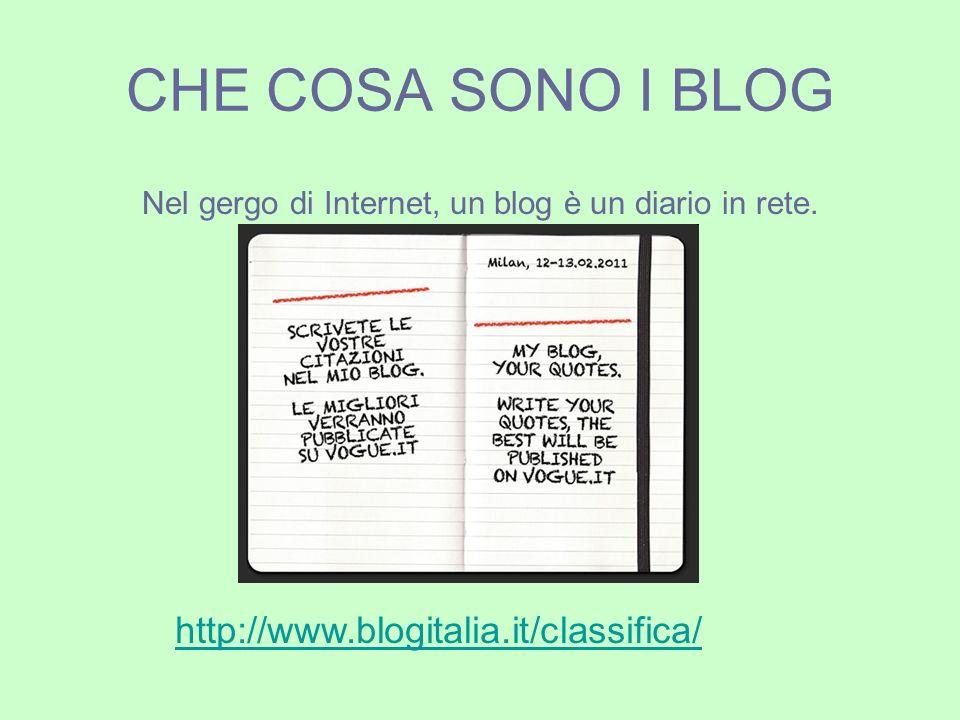 Alcune tipologie di blog Blog personale E la categoria più diffusa.