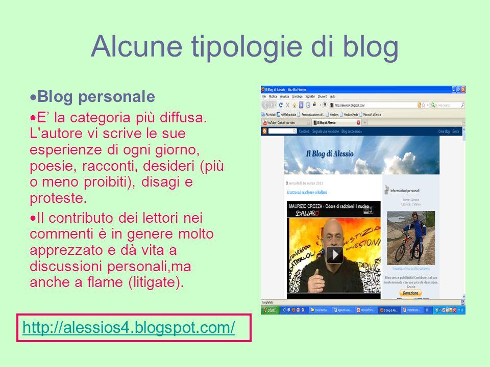 Blog tematico Ogni essere umano ha un hobby o una passione.