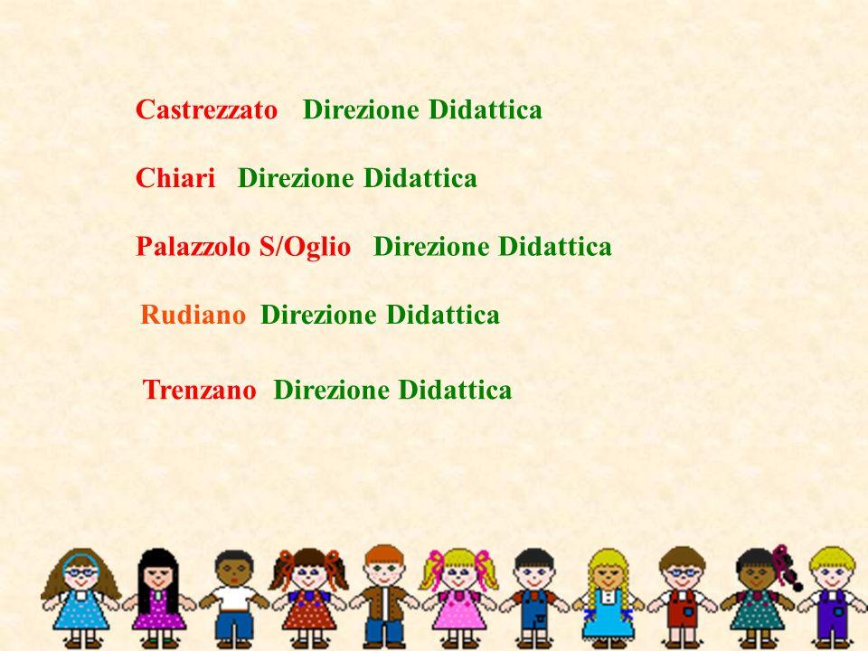 Trenzano Direzione Didattica Chiari Direzione Didattica Palazzolo S/Oglio Direzione Didattica Castrezzato Direzione Didattica Rudiano Direzione Didatt