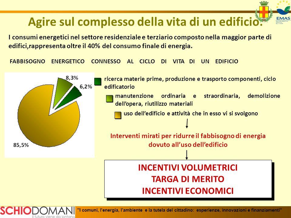 Incentivi economici erogati per tipo di intervento Dati riferiti al periodo 12/12/2008 – 8/2/2010 I comuni, l energia, lambiente e la tutela del cittadino: esperienze, innovazioni e finanziamenti