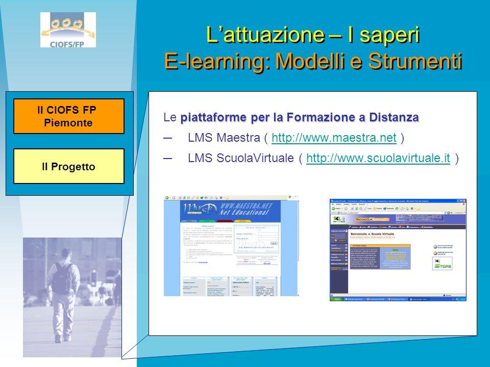 piattaforme per la Formazione a Distanza Le piattaforme per la Formazione a Distanza LMS Maestra ( http://www.maestra.net )http://www.maestra.net LMS