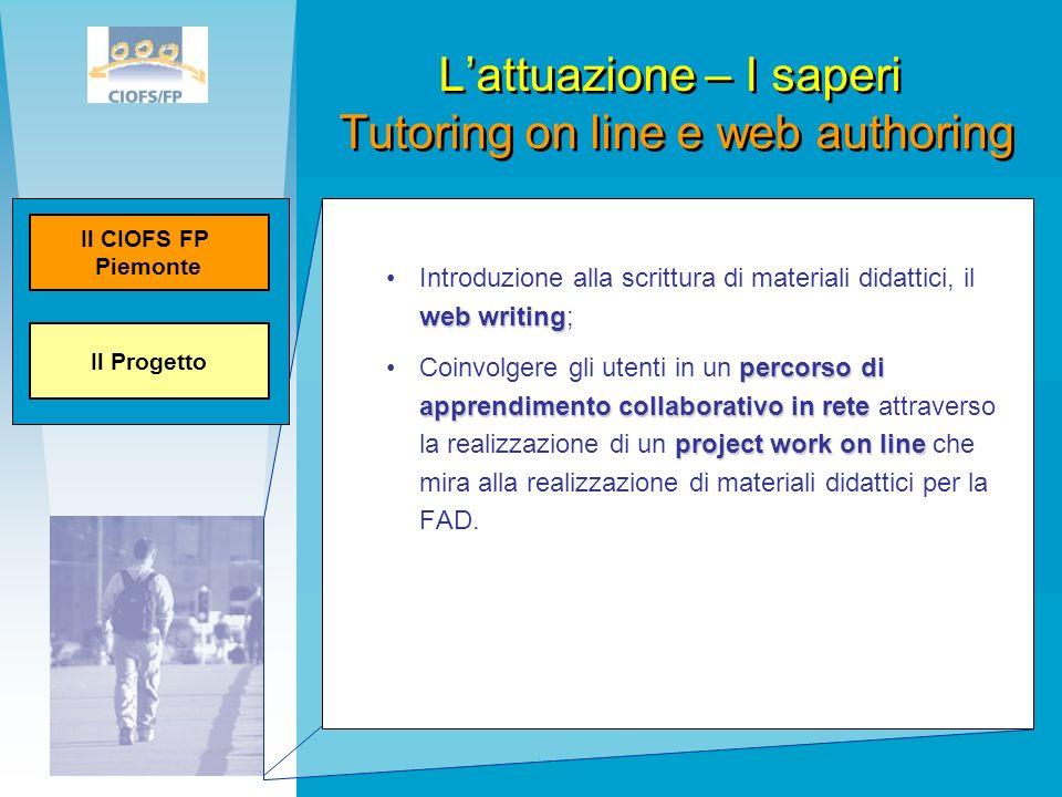 web writingIntroduzione alla scrittura di materiali didattici, il web writing; percorso di apprendimento collaborativo in rete project work on lineCoi