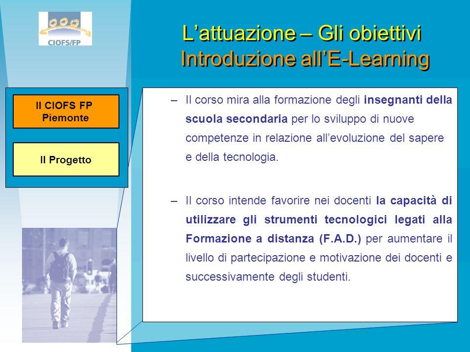–Il corso mira alla formazione degli insegnanti della scuola secondaria per lo sviluppo di nuove competenze in relazione allevoluzione del sapere e de