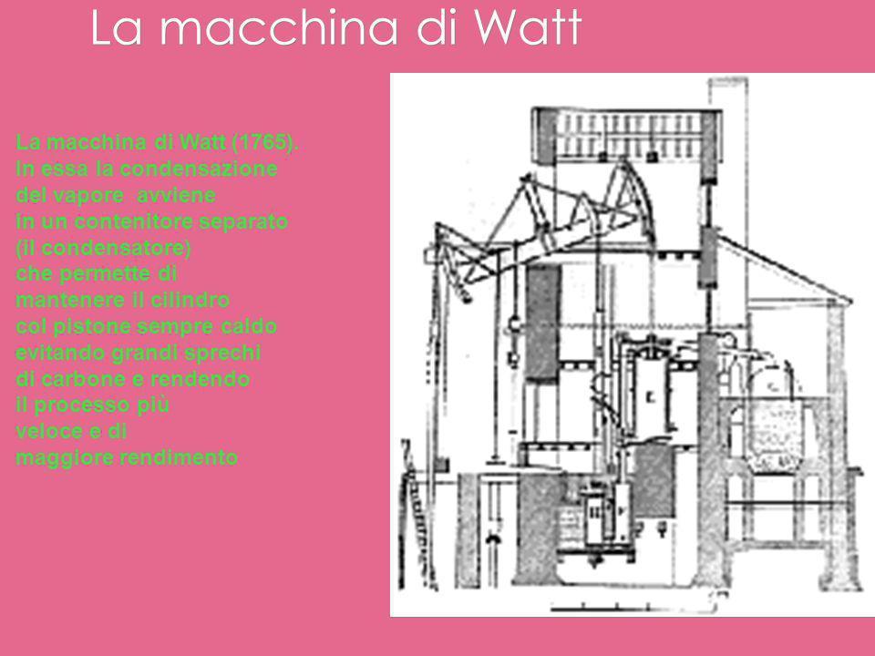 La macchina di Newcomen La prima vera e propria macchina a vapore viene inventata e costruita daThomas Newcomen (1663-1729), un fabbro inglese che si