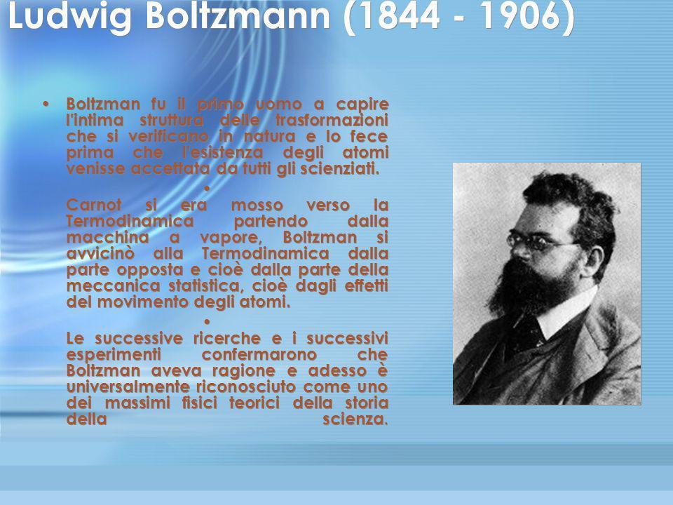 Il diavoletto di Maxwell A metà Ottocento lo scozzese James Clerk Maxwell, che oltre a scoprire le leggi dell'elettromagnetismo fu tra i protagonisti