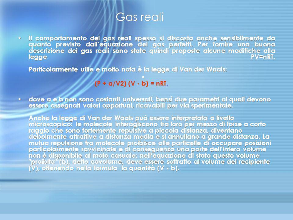 Teoria cinetica (12) Abbiamo così dimostrato che: 1)La pressione P è dovuta agli urti delle molecole del gas sulle pareti 2)La temperatura assoluta T