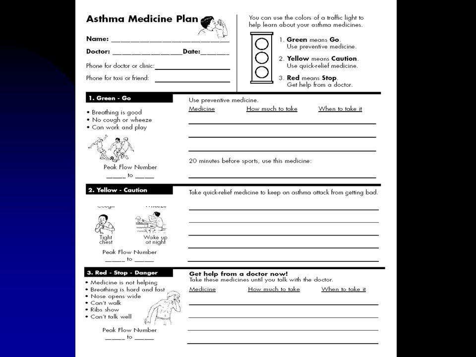 Cochrane Database Syst Rev 2003; (1): CD000326 Educational interventions for asthma in children (Cochrane Review) Obiettivi: determinare la efficacia dei programmi di self management sulla salute dei bambini con asma Criteri di selezione: Trial RCT di self management in bambini (2-18 anni) Risultati: di 45 trial identificati, 32 erano elegibili (3706 bambini).