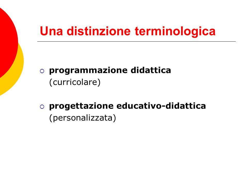 Due fondamentali MODELLI DI PROGETTAZIONE PER OBIETTIVI modello lineare, trasmissivo programmazione curricolare D.P.R.