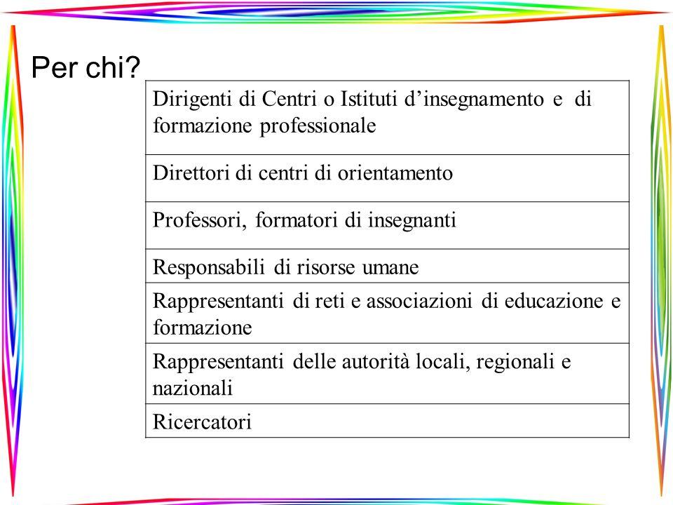 Numeri di partecipanti europei Numeri di posti15Minimo richiesto6 QSalute umana e azione sociale SETTORE ECONOMICO 7.