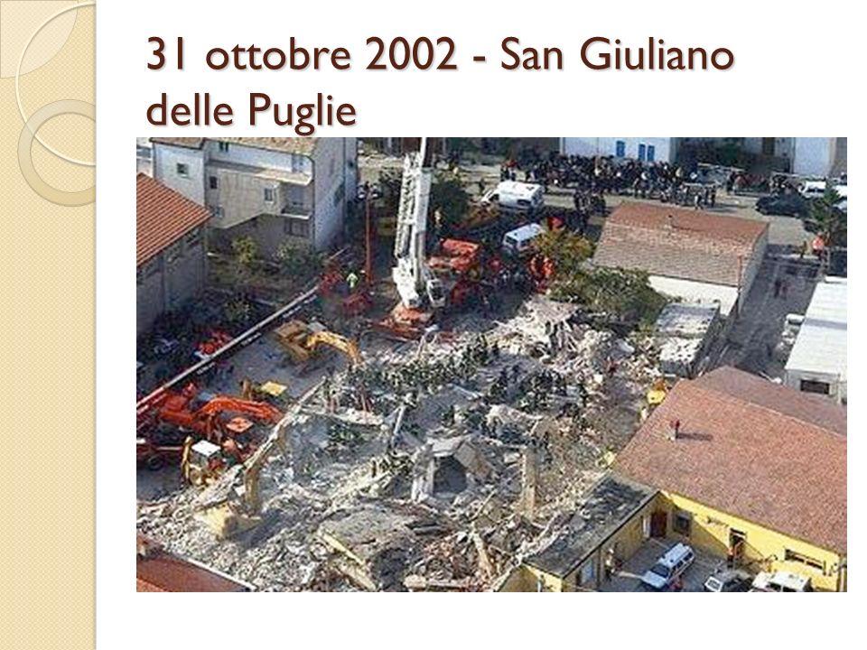 31 ottobre 2002 - San Giuliano delle Puglie