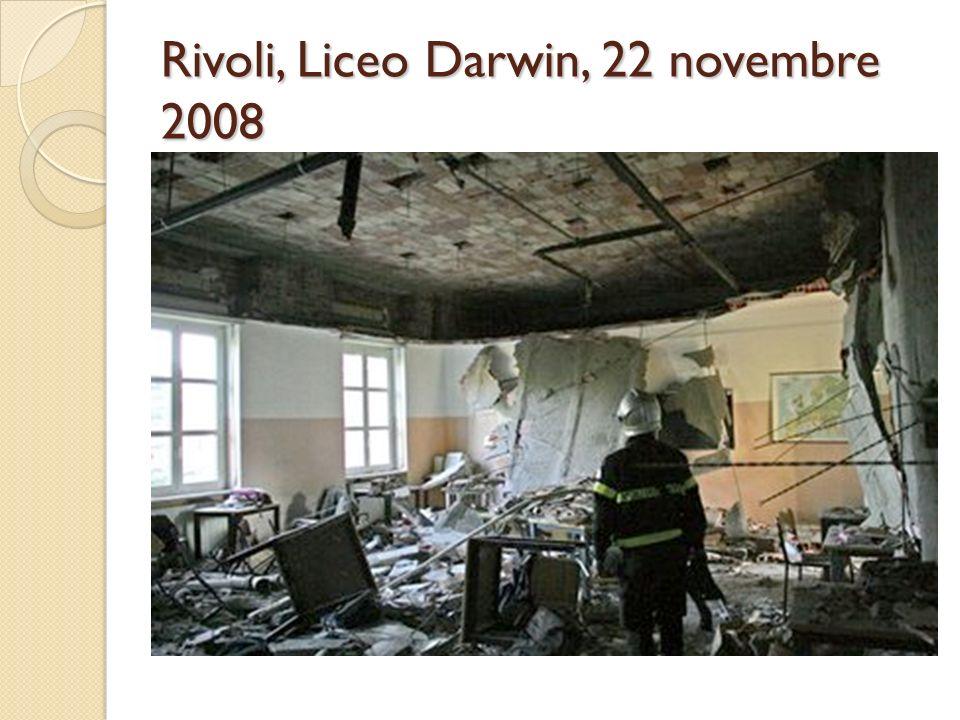 Rivoli, Liceo Darwin, 22 novembre 2008