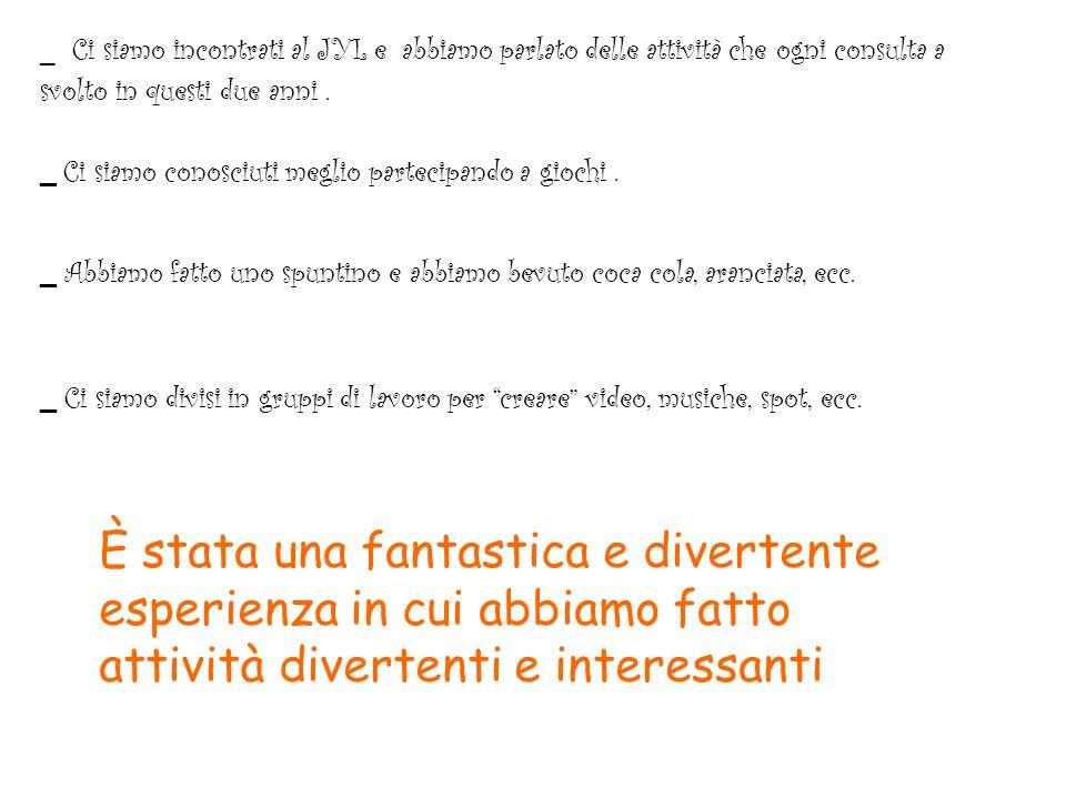 I 4 laboratori del 30/05 audio Creazione cartellone Creazione filminoCreazione pagina web