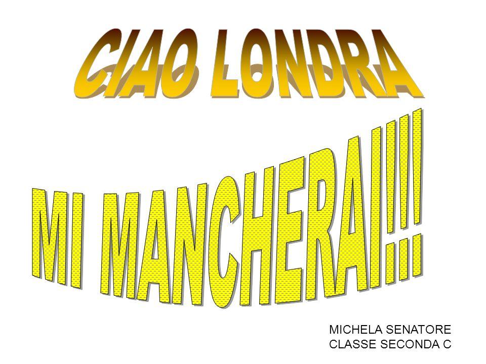 MICHELA SENATORE CLASSE SECONDA C
