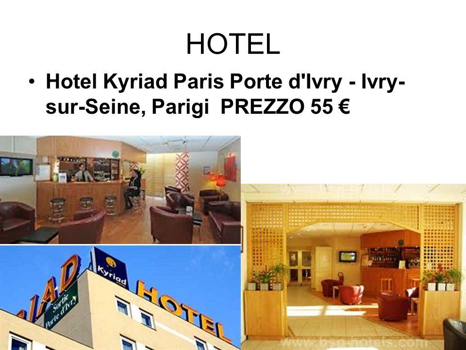 HOTEL Hotel Kyriad Paris Porte d'Ivry - Ivry- sur-Seine, Parigi PREZZO 55
