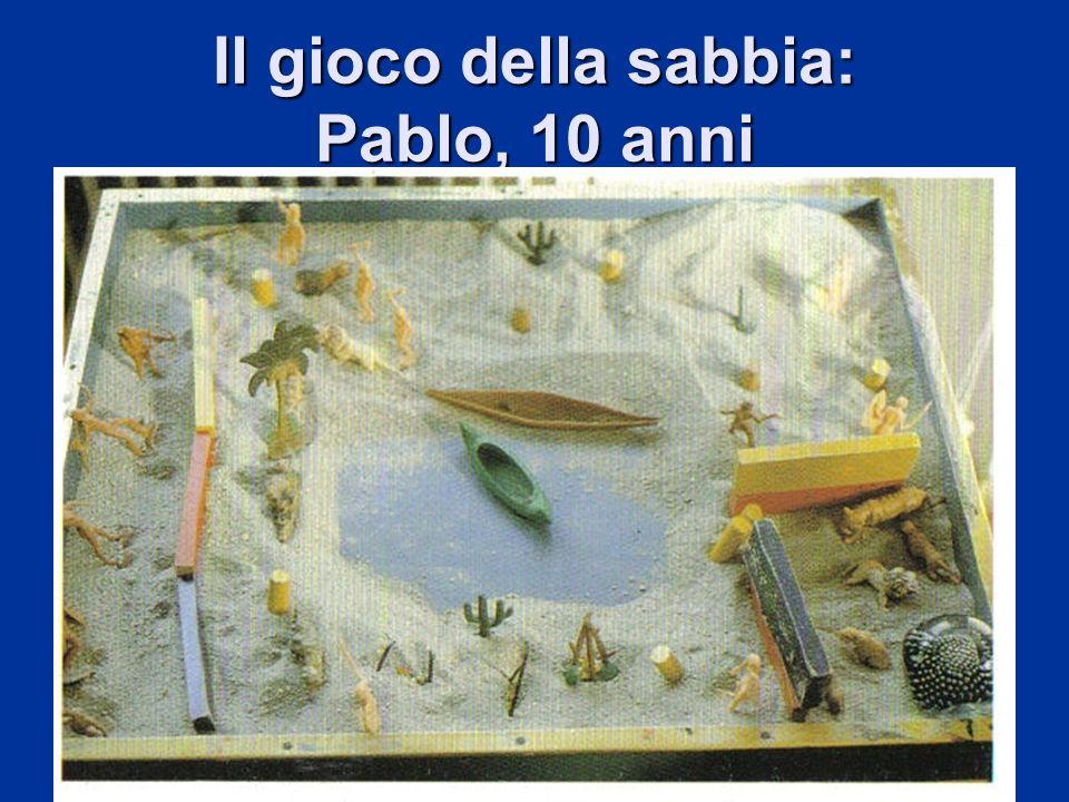 Il gioco della sabbia: Pablo, 10 anni