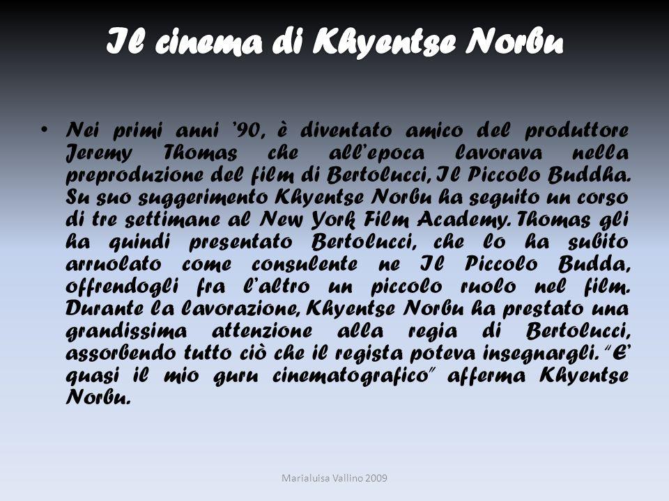 Nei primi anni 90, è diventato amico del produttore Jeremy Thomas che allepoca lavorava nella preproduzione del film di Bertolucci, Il Piccolo Buddha.