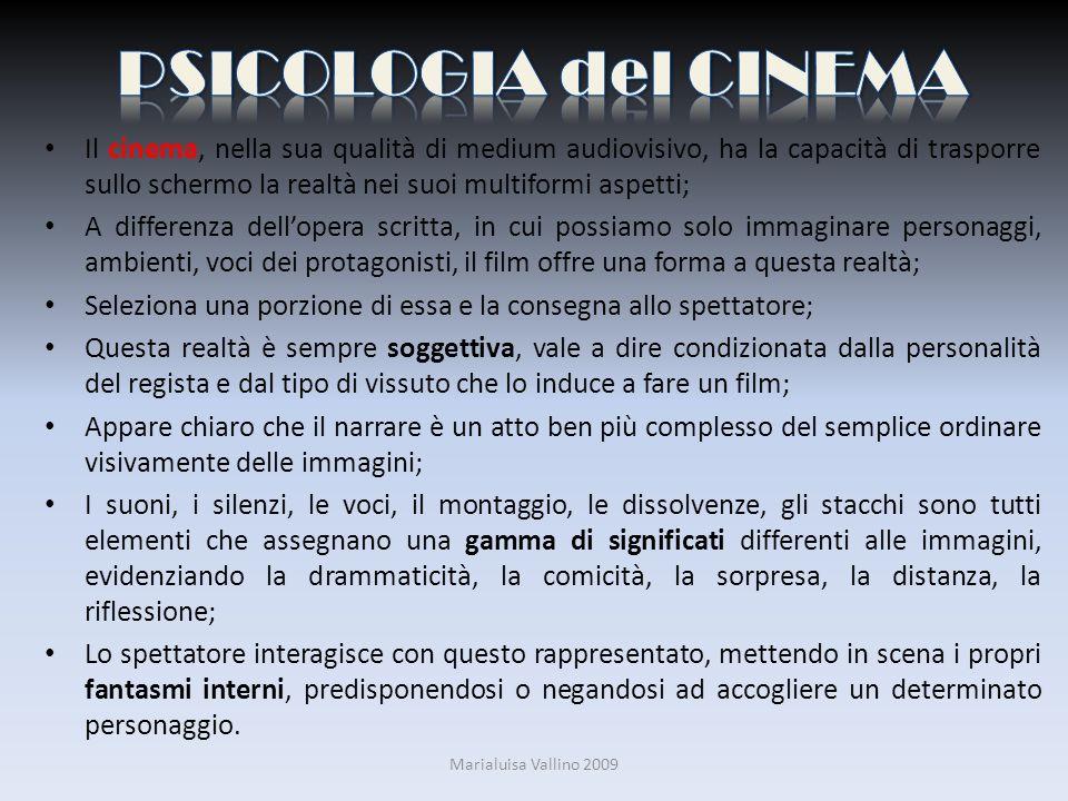 Il cinema, nella sua qualità di medium audiovisivo, ha la capacità di trasporre sullo schermo la realtà nei suoi multiformi aspetti; A differenza dell
