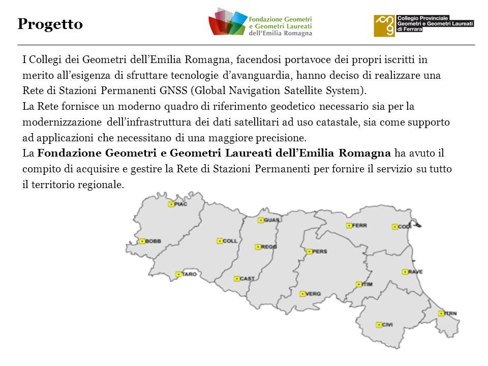 Progetto I Collegi dei Geometri dellEmilia Romagna, facendosi portavoce dei propri iscritti in merito allesigenza di sfruttare tecnologie davanguardia