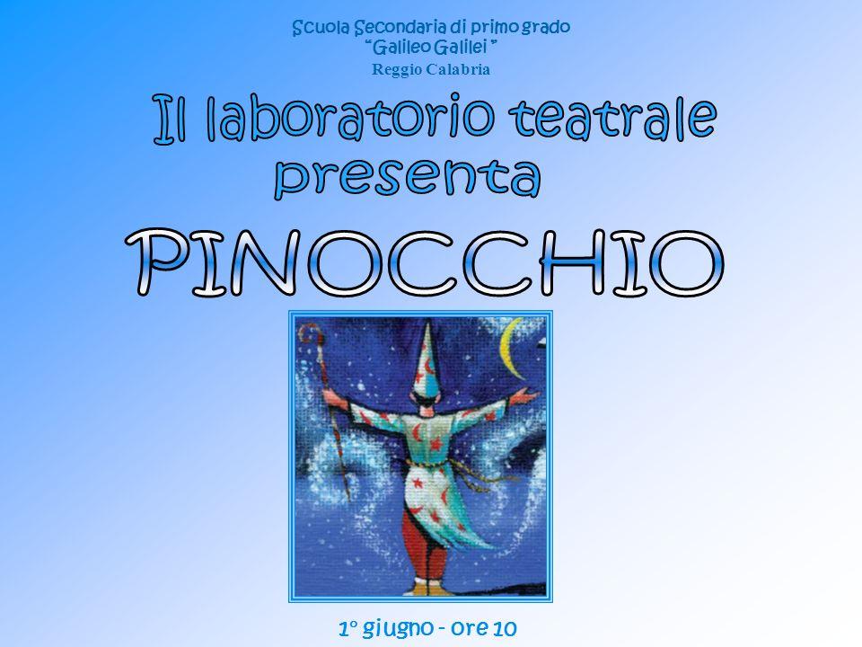 Scuola Secondaria di primo grado Galileo Galilei Reggio Calabria 1° giugno - ore 10