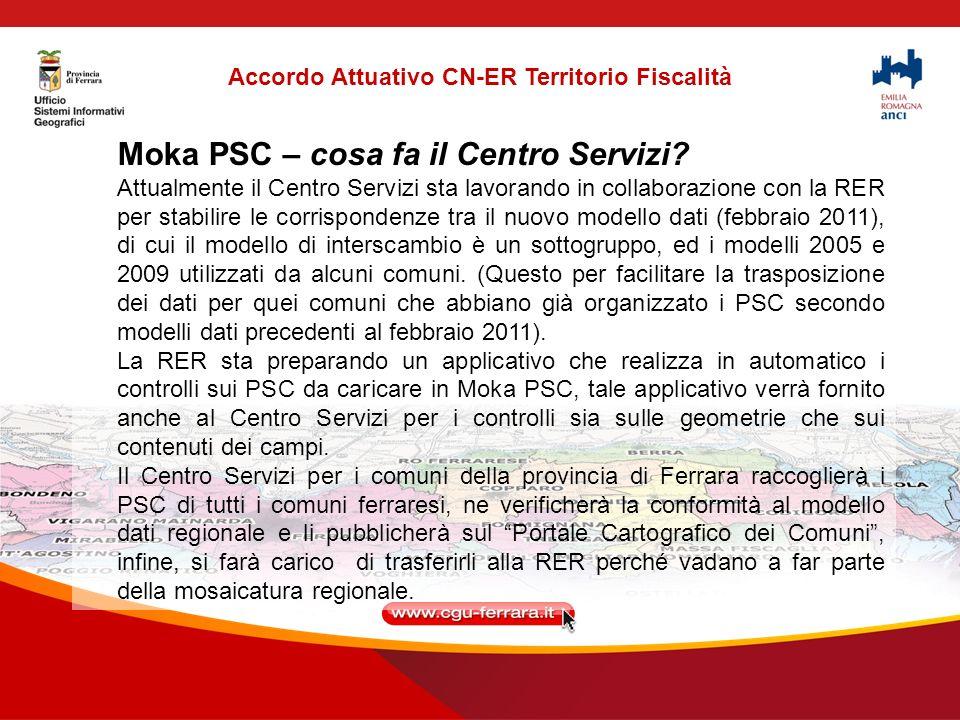 Accordo Attuativo CN-ER Territorio Fiscalità Moka PSC – cosa fa il Centro Servizi.