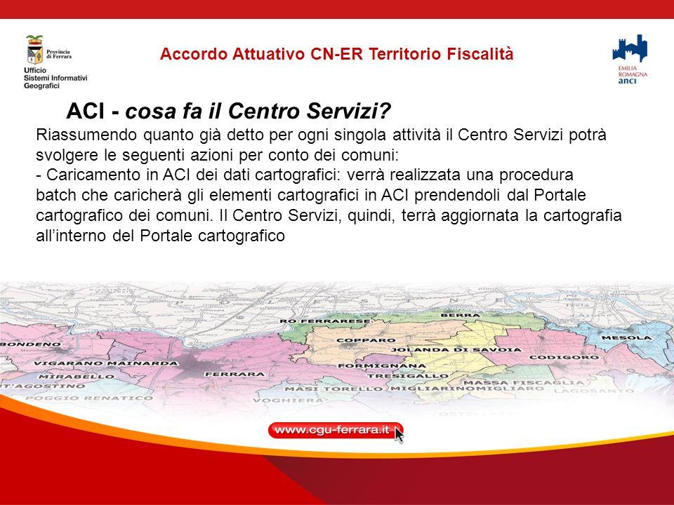 ACI - cosa fa il Centro Servizi.