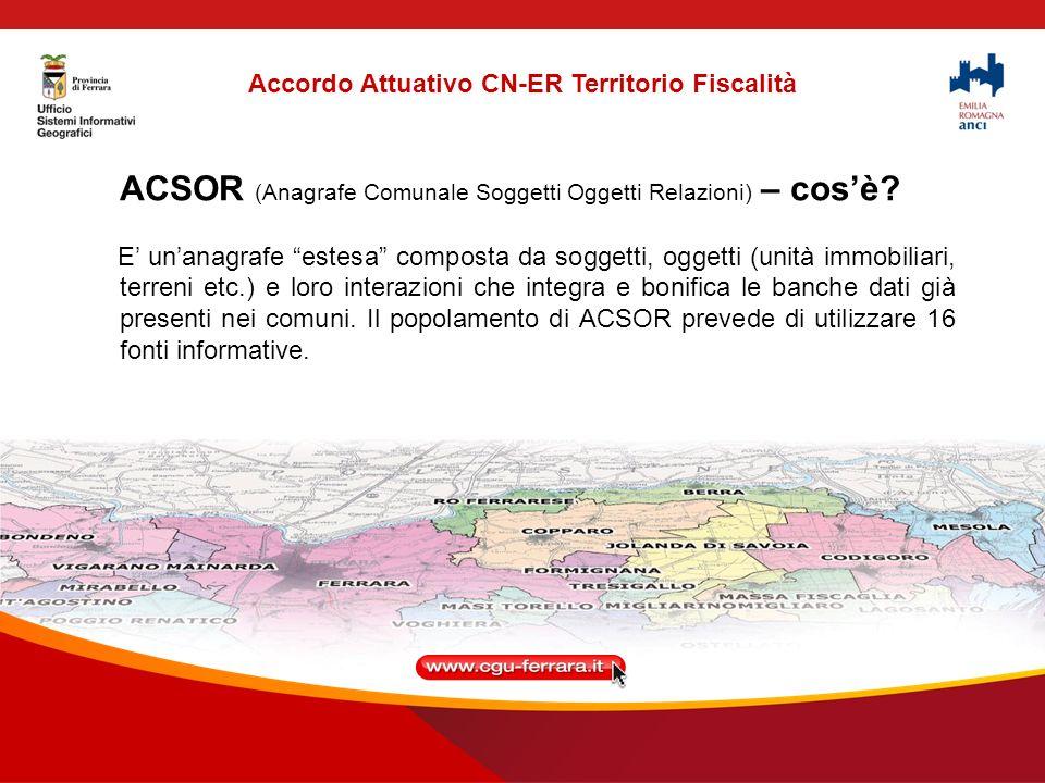 ACSOR (Anagrafe Comunale Soggetti Oggetti Relazioni) – cosè.