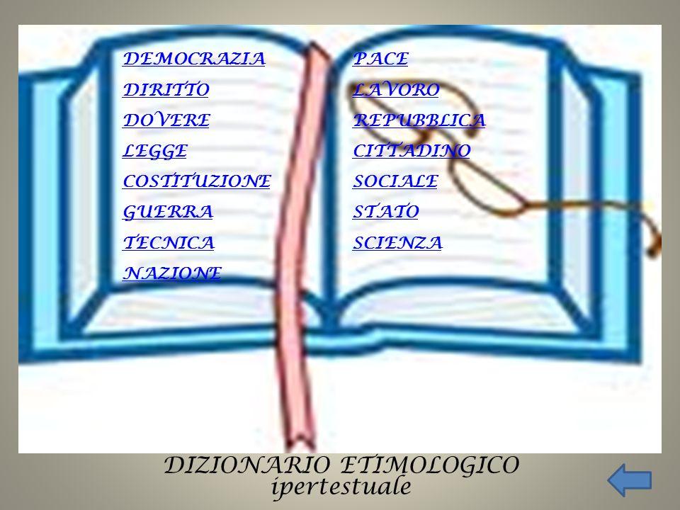 COSTITUZIONE dal latino CONSTITUTIONEM da CONSTITUERE, stabilire, ordinare, dare stabile assetto.