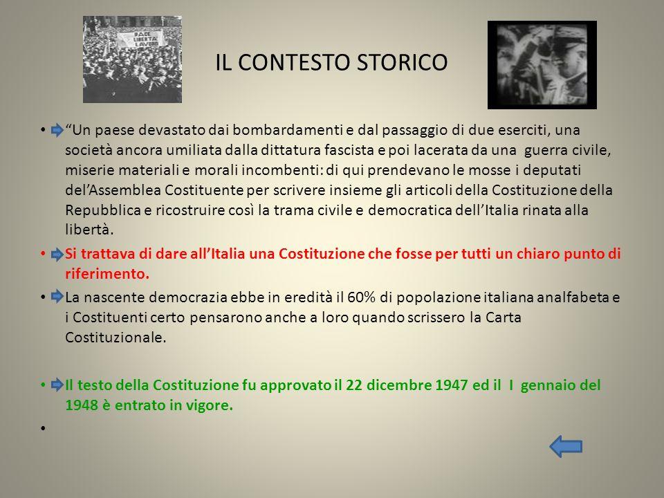 IL LESSICO DELLA NOSTRA CARTA COSTITUZIONALE Il testo della Costituzione italiana è lungo 9369 parole.¹ Un grandissimo numero di queste parole è tratto dal vocabolario di base.