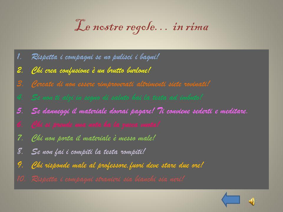 LE PAROLE CALPESTATE Storie di diritti negati Dal Corriere della Sera del 10/01/2010 Rosarno.