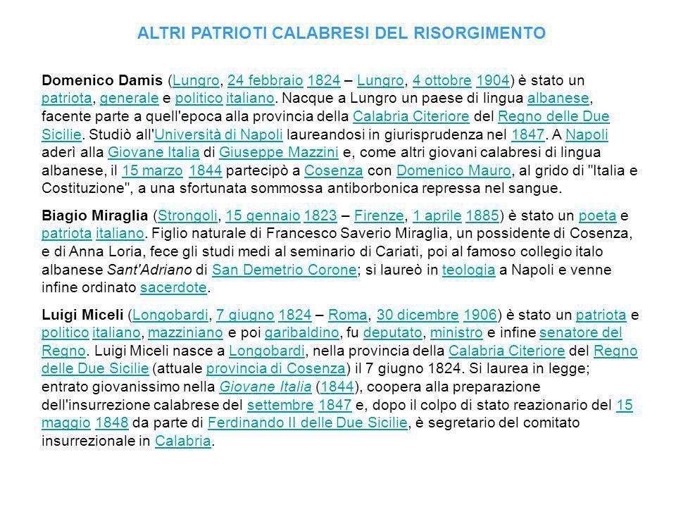 Domenico Damis (Lungro, 24 febbraio 1824 – Lungro, 4 ottobre 1904) è stato un patriota, generale e politico italiano.