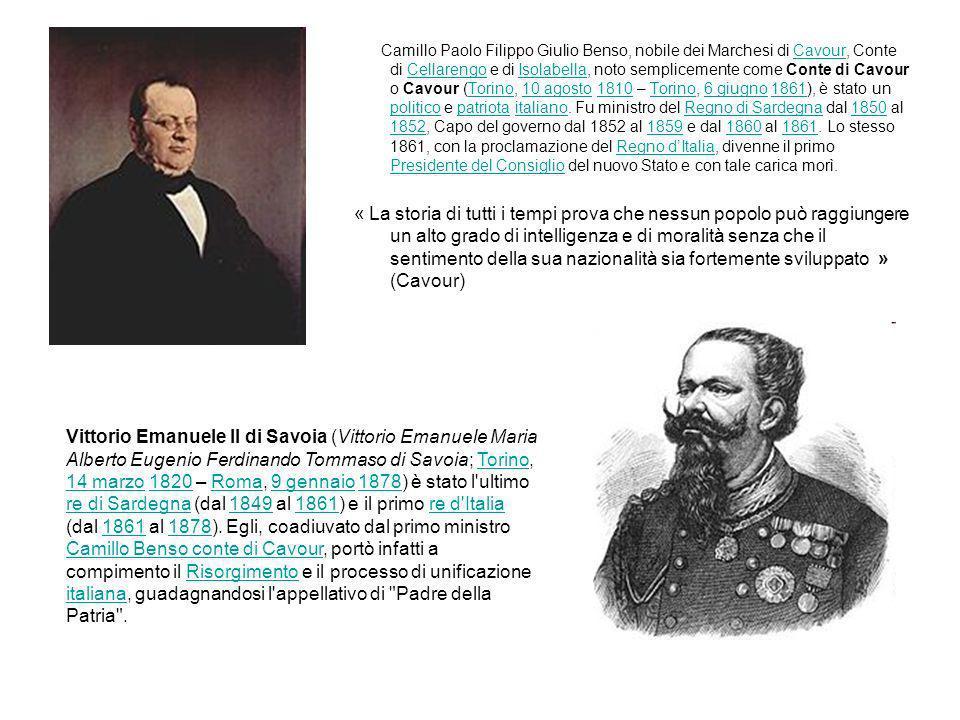 Camillo Paolo Filippo Giulio Benso, nobile dei Marchesi di Cavour, Conte di Cellarengo e di Isolabella, noto semplicemente come Conte di Cavour o Cavo