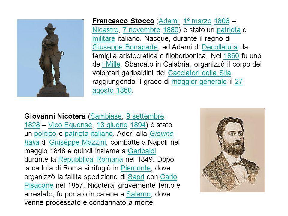 Francesco Stocco (Adami, 1º marzo 1806 – Nicastro, 7 novembre 1880) è stato un patriota e militare italiano. Nacque, durante il regno di Giuseppe Bona